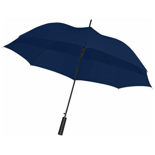 Фото - Зонт-трость Dublin, темно-синий мужской зонт трость doppler артикул 71963dmas спицы из фибергласа купол 130 см вес 350 грамм