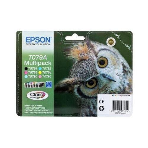 Epson Картридж Epson Original T079A4A10 комплект для P50/PX660
