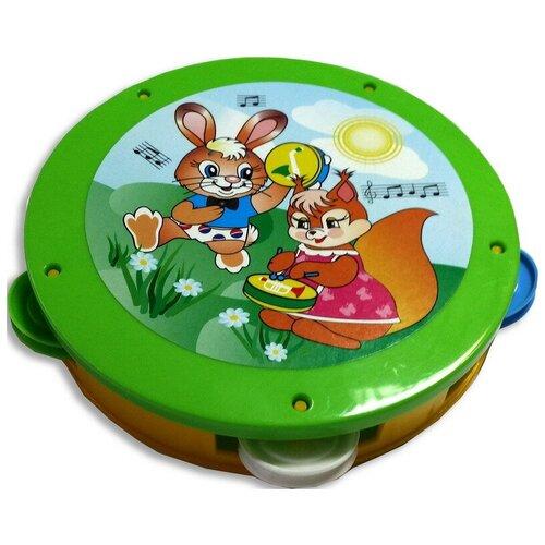 Купить Бубен детский, Аэлита, Детские музыкальные инструменты