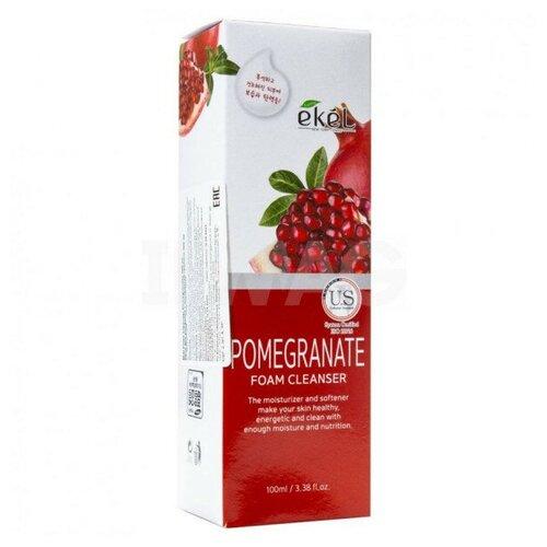 Купить Пенка для умывания EKEL , гранат, Foam Cleanser Pomegranate, 100 мл. 653458