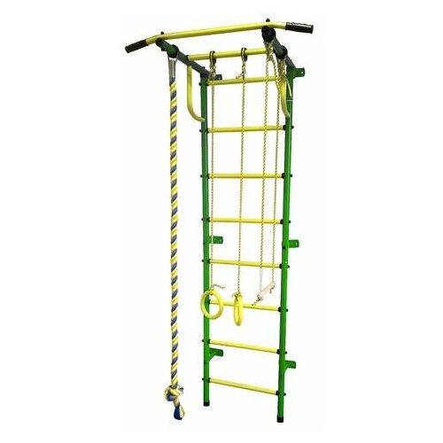 Спортивный комплекс Пионер С2РМ зелёно/жёлтый