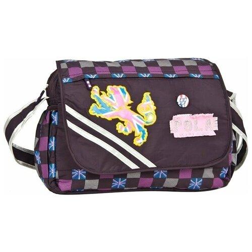 сумка polar д1412 Сумка-планшет женская POLAR, фиолетовый