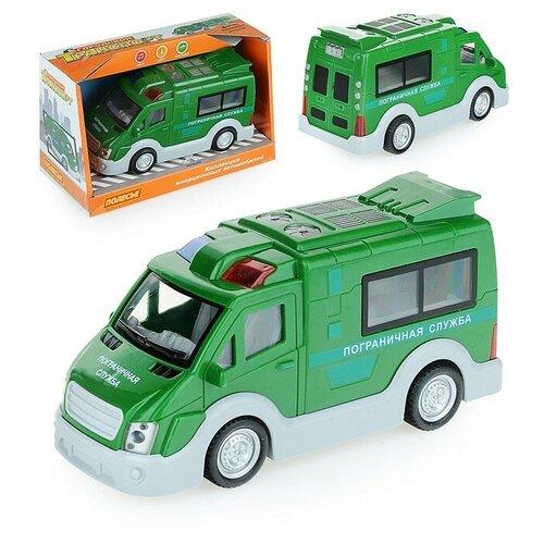 Купить Пограничная служба, автомобиль инерционный (со светом и звуком) (в коробке), Полесье, Машинки и техника