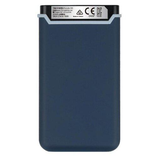 Фото - Портативный SSD Transcend ESD370C 250Gb, USB 3.1 G2, Type-C, TS250GESD370C портативный ssd transcend esd370c 500gb usb 3 1 g2 type c ts500gesd370c