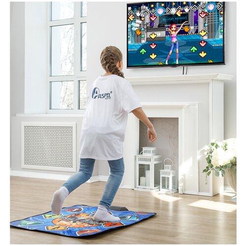 Купить Беспроводной танцевально-игровой коврик Stay Cool ASPEL с HDMI-кабелем (32 бита), Игровые коврики