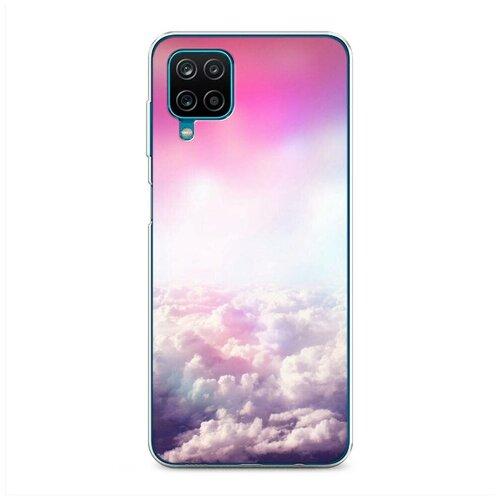 Чехол Силиконовый Samsung Galaxy A12 Постельные облака