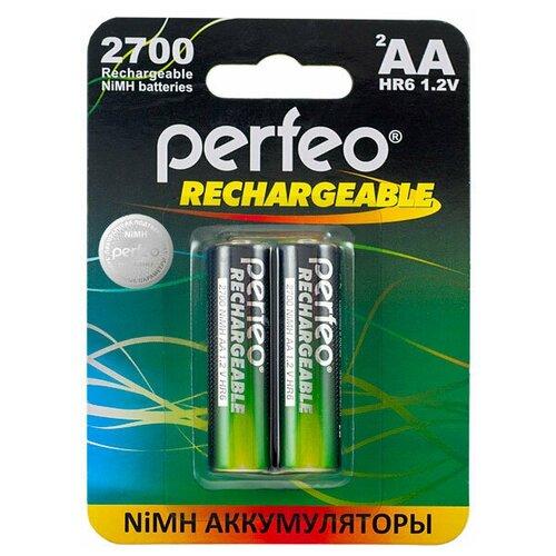 Фото - Аккумулятор Perfeo AA2700mAh/2шт аккумулятор perfeo aa2500mah 2шт