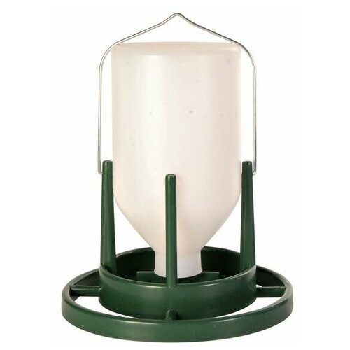 Поилка для птиц уличная, 1 л/20 см, пластик, Trixie (товары для животных, 5453)