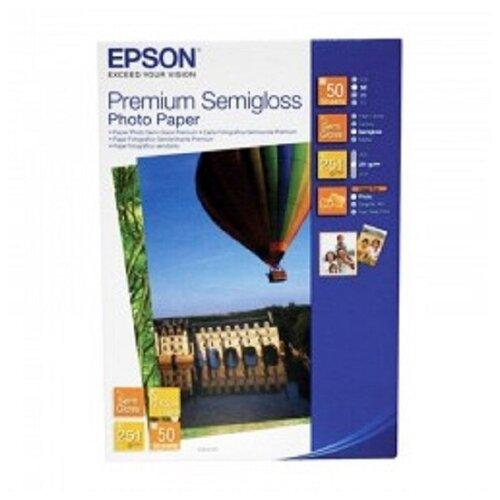 Фото - Фотобумага Epson Premium Semigloss Photo Paper фотобумага epson premium semigloss photo paper