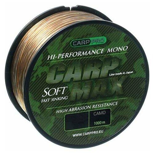 Леска Carp Pro Carp Max Camo 1000м 0.3мм застежка carp pro quick link 3 10шт 240972