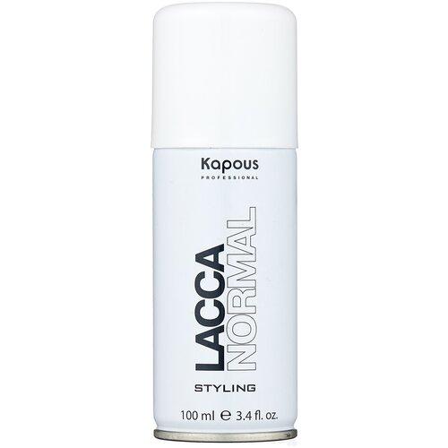Купить Kapous Professional Лак для волос Lacca Normal, средняя фиксация, 100 мл