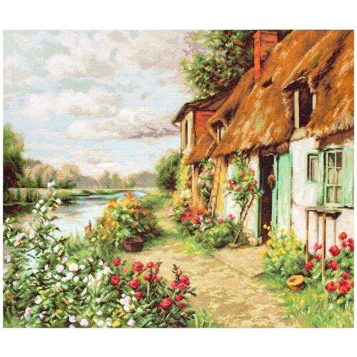 Фото - Luca-S Набор для вышивания Пейзаж 42.5 x 34 см (B571) набор для вышивания улитка luca s 9 5 x 5 см b005