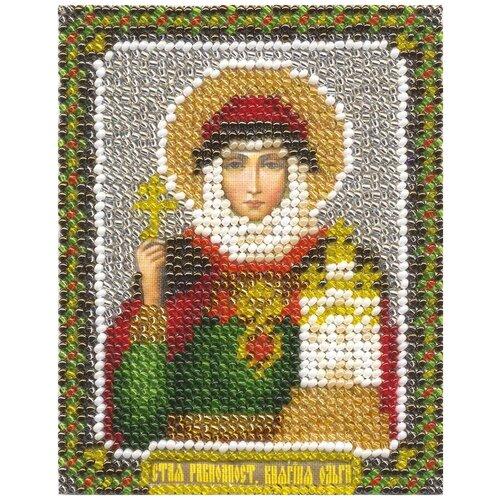 Купить Набор для вышивания бисером PANNA Икона Святой Равноапостольной Княгини Ольги (CM-1304), Наборы для вышивания