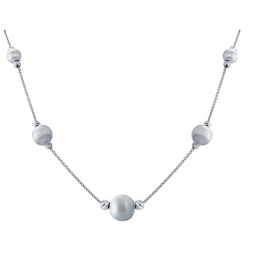 ELEMENT47 Колье из серебра 925 пробы CO03120_KL_WG, 45 см