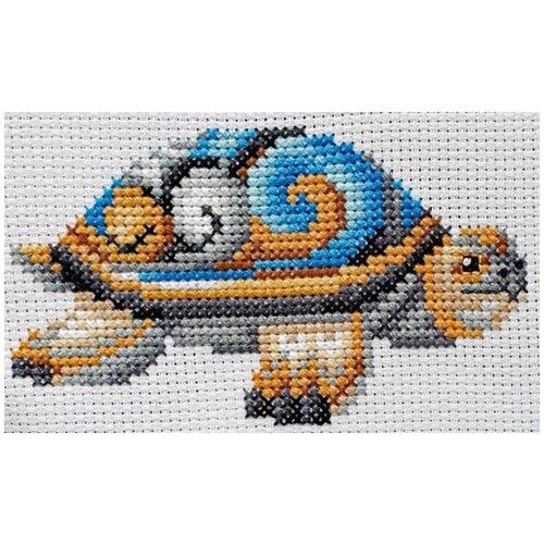 Сделай своими руками Набор для вышивания Статуэтки.Черепаха 12 x 10 см (С-41)