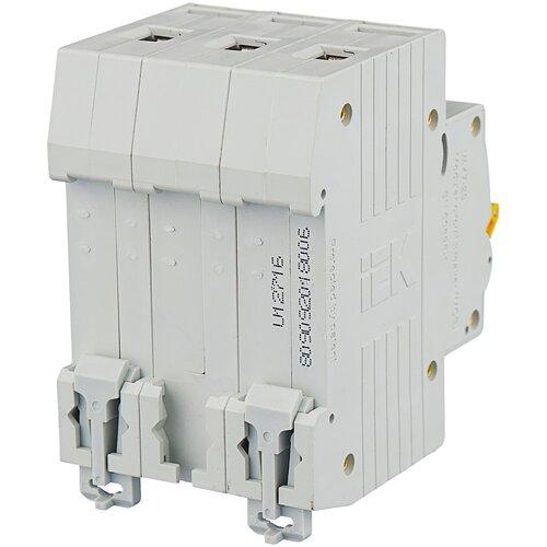 Автоматический выключатель IEK ВА 47-29 3P (C) 4,5kA 6 А автоматический выключатель iek ва 47 29 3p c 4 5ka 63 а