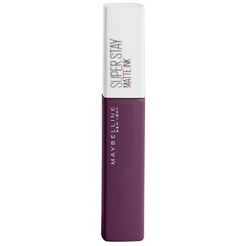 Купить Maybelline New York Super Stay Matte Ink жидкая помада для губ стойкая матовая, оттенок 110, Originator