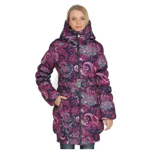 Слингокуртка I Love Mum Исландия, размер 46 / L, фиолетовый