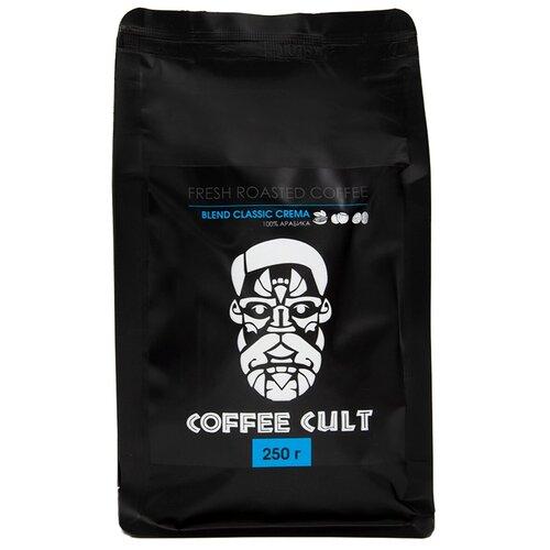 coffee 1889 premium blend 1 kg Кофе в зернах Coffee Cult Blend Classic Crema, 250 г
