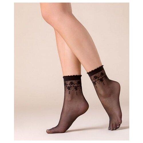 Капроновые носки Gabriella Bloom 526, размер One size, nero