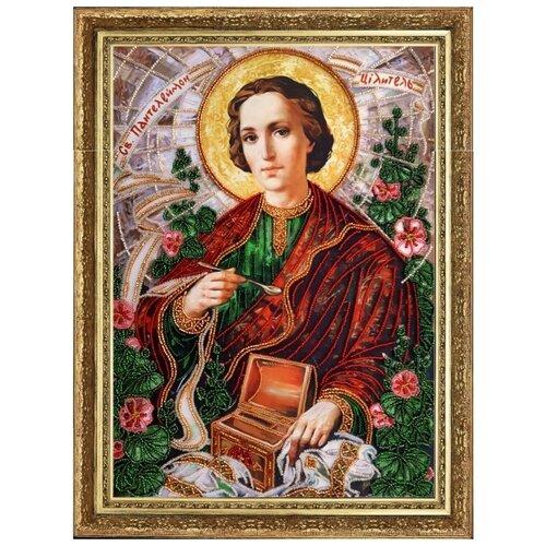 Купить Набор для вышивания BUTTERFLY 815 Св. Пантелеймон 36х25 см, Наборы для вышивания