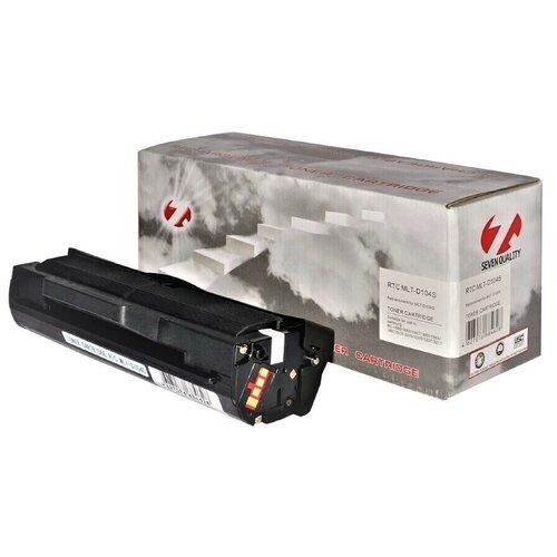 Фото - Тонер-картридж 7Q Seven Quality MLT-D104S, черный, для лазерного принтера, совместимый картридж 7q seven quality w1106a wc совместимый