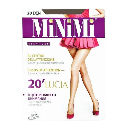 Фото - Колготки MiNiMi Lucia, 20 den, размер 4-L, fumo (серый) колготки minimi vittoria 20 den размер 4 l fumo серый