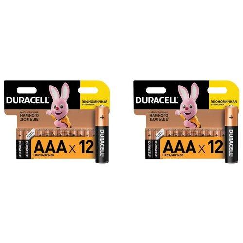 Фото - Батарейки Duracell размера AAA 24 шт батарейки duracell размера aa 60 шт