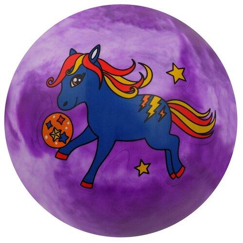 Купить Мяч детский «Единорог», d=22 см, 70 г, микс, Zabiaka, Мячи и прыгуны