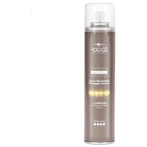 Купить Hair Company Неаэрозольный спрей для укладки волос Inimitable style Illuminating extreme, экстрасильная фиксация, 300 мл