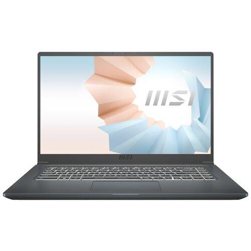 Ноутбук MSI Modern 15 A11SBL-462RU (Intel Core i5 1135G7/15.6/1920x1080/8GB/512GB SSD/NVIDIA GeForce MX450 2GB/Windows 10 Home) 9S7-155226-462, черный ноутбук msi modern 15 a11sbl 462ru core i5 1135g7 8gb ssd512gb nvidia geforce mx450 2gb 15 6 ips fhd 1920x1080 windows 10 grey wifi bt cam