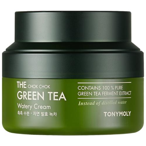 Tony Moly Увлажняющий крем с экстрактом зеленого чая The Chok Chok Green Tea Watery Cream, 60 мл tony moly the chok chok green