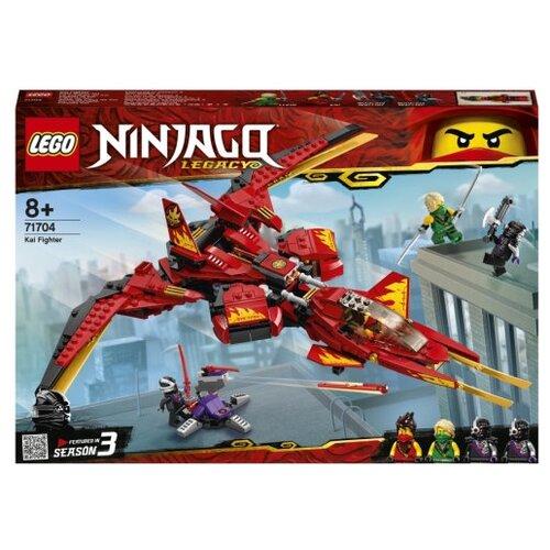 Фото - Конструктор LEGO Ninjago 71704 Истребитель Кая конструктор lego ninjago бронированный носорог зейна