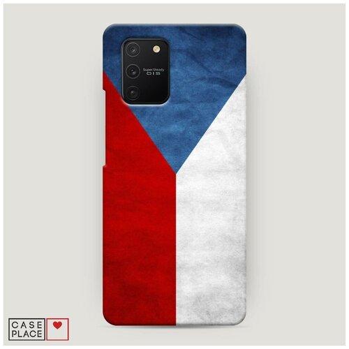 Чехол Пластиковый Samsung Galaxy S10 Lite Флаг Чехии