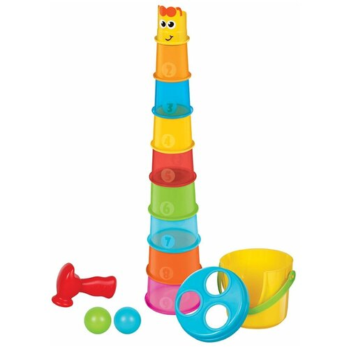 Фото - Развивающая игрушка B kids Жираф Пирамидка развивающая игрушка ks kids вейн что носить 20 7 26см ka690