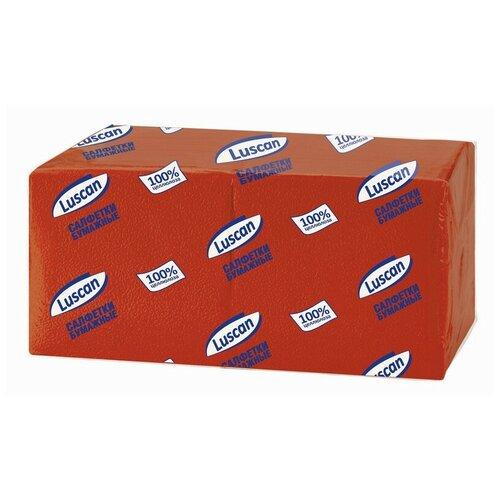 Купить Салфетки бумажные Luscan Profi Pack 1сл24х24 красные400шт/уп 2 шт.
