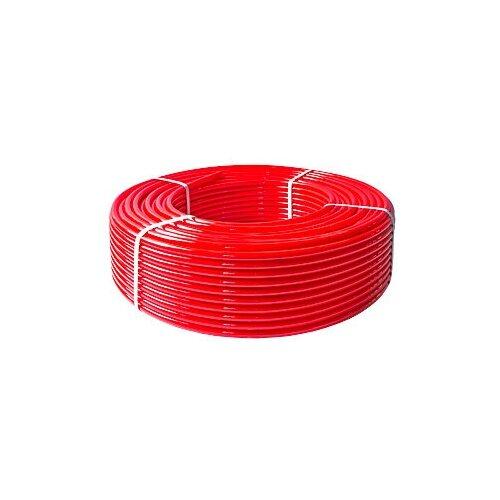 Фото - Труба из сшитого полиэтилена VALTEC PEX-EVOH VP1620.3, DN16 мм 200 м красный труба из сшитого полиэтилена tim pe xb evoh tpex2020 dn16 мм 200 м красный