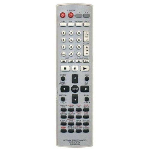 Фото - Пульт ДУ Huayu для Panasonic EUR7722XCO пульт ду panasonic eur 7722x20 universal dvd vhs system