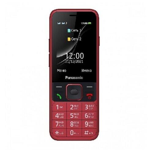 Телефон Panasonic KX-TF200RUR TF200 32Mb красный моноблок