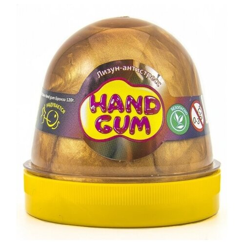 Слайм Mr.Boo Hand gum Бронза, 120 гр
