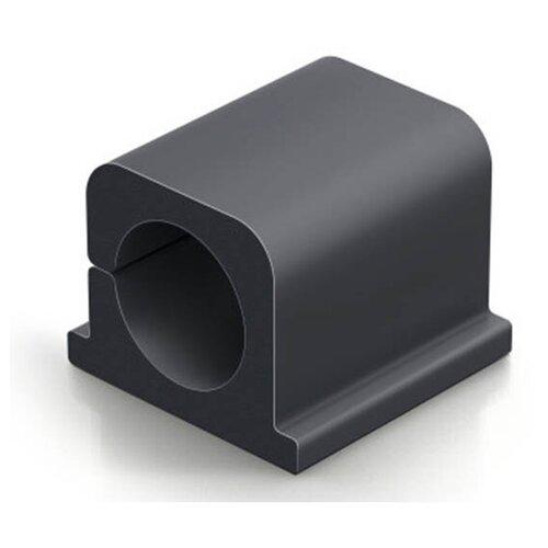Фото - Фиксаторов для кабеля Durable Cavoline Clip Pro 2 до 12mm Anthracite 504337 лента на липучке для фиксации кабеля durable cavoline grip 1000х20mm black 503201