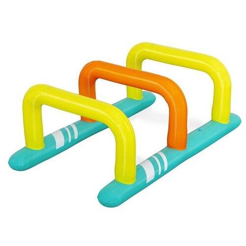 Игровые надувные барьеры Hop Zone 135 x 79 x 53 см с распылителем 52383 Bestway