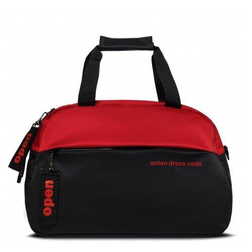 Дорожная сумка Antan, 2-168 красно-черная