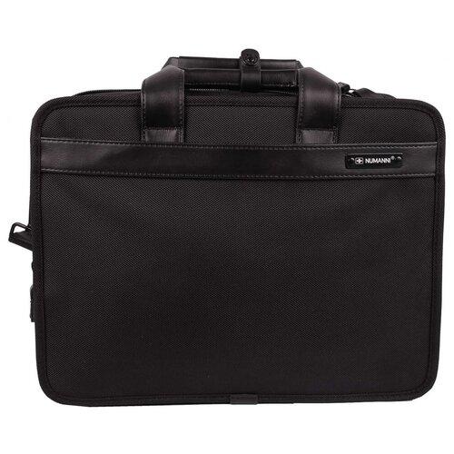 Сумка-портфель для ноутбука Numanni 391 чёрная