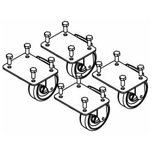 Колеса для линейного массива Das Audio KITW-100