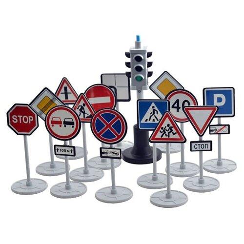 Фото - Игрушка Игровой набор Форма Светофор с дорожными знаками С-1 автомобильный атлас москва с дорожными знаками