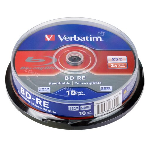 Verbatim 25 Gb, 2x, Jewel Case (10шт)