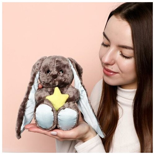 Зайки Li&Lu Мягкая игрушка «Lu мечтатель», заяц