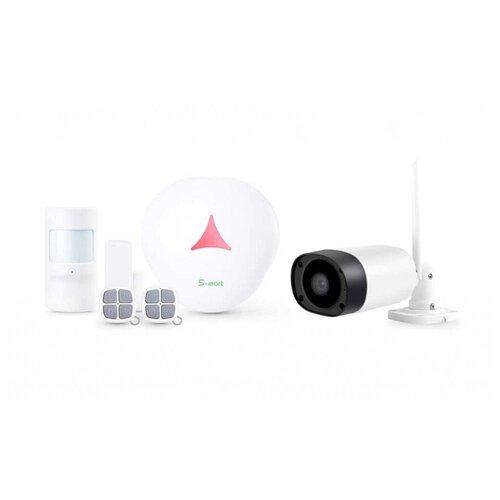 Комплект беспроводной охранной GSM видео сигнализации Страж Мини Видео + XMD20 для дачи коттеджа