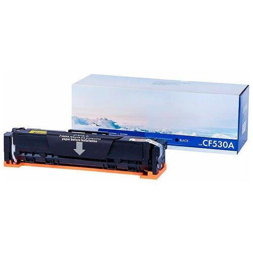 Фото - Картридж NV Print CF530A Black для HP Color LaserJet Pro M180n/M181fw картридж nv print nv cf533a magenta для hewlett packard color laserjet pro mfp m180n m181fw 900k